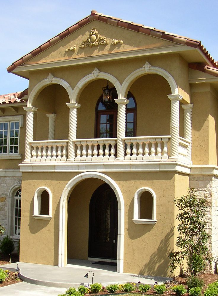Stone Columns Design : Best images about cast stone window and door surrounds