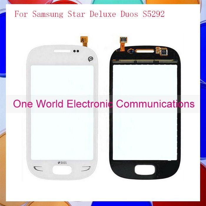 Вл 10 шт./лот высокая Qulity 3.5  для Samsung Star дуэты S5292 сенсорный экран планшета сенсорный датчик стеклянная панель бесплатная доставка