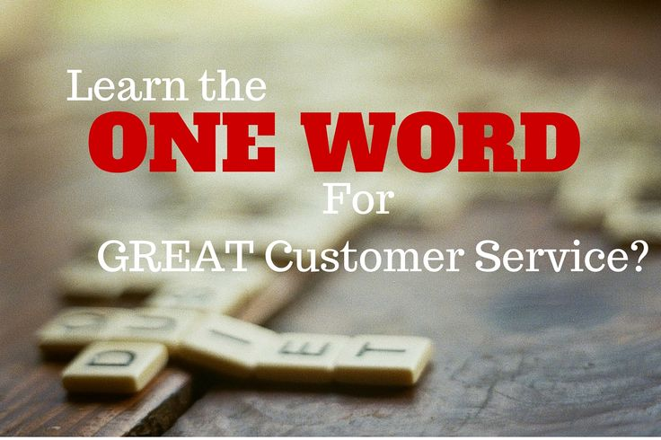 I asked a few customer service leaders to describe a great customer experience in one word. Here's what they said. #custserv #cx