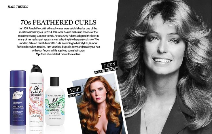 Αντέγραψε τα καλύτερα all time classic χτενίσματα των μεγαλύτερων stars όλων των εποχών με τη βοήθεια του άρθρου του BeauteNet.com!  Χρησιμοποίησε την κρέμα για μπούκλες PHYTOCURL για να πετύχεις τα υπέροχα κυματιστά μαλλιά της Farrah Fawcett, και της νεώτερης Amy Adams!