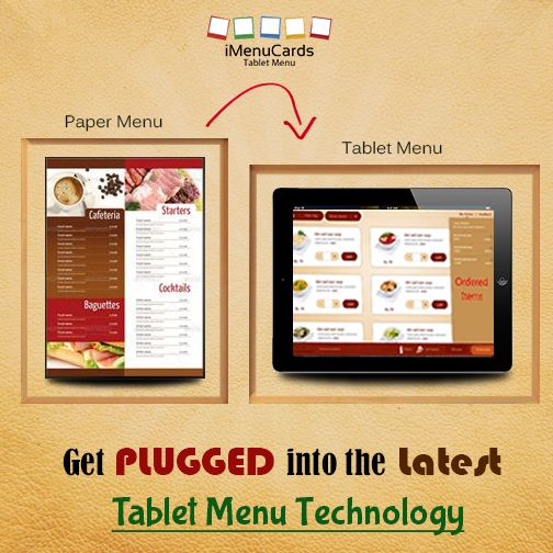 Tablet Menu Solutions with Several Innovative Features. Know More Here: www.imenucards.in/  #iMenu #TabletMenu