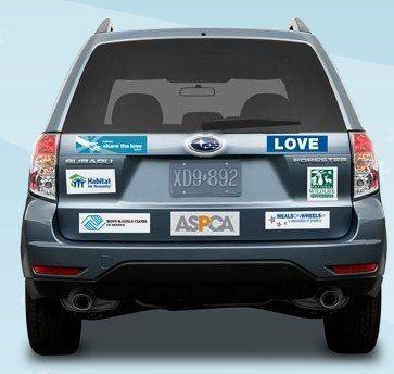 Bumper Stickers For Subaru