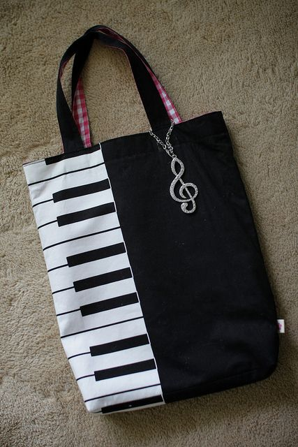 My wifes handmade bag for piano lessons. | Flickr - Fotosharing!