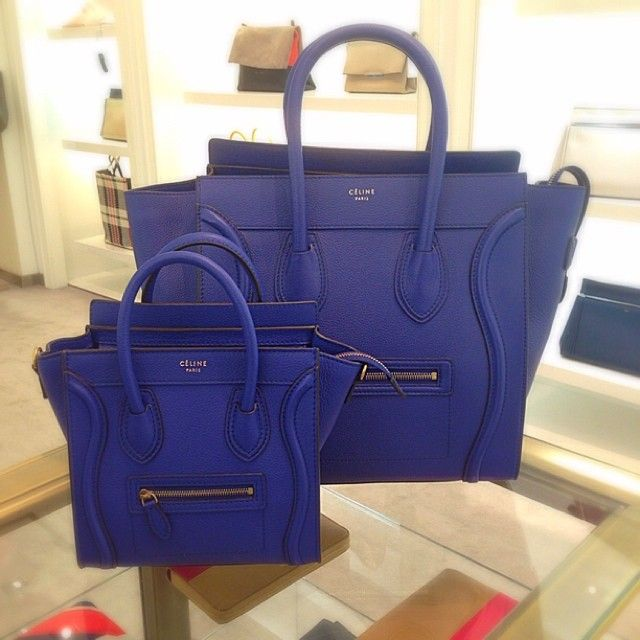 celine luggage indigo - Google Search | Shopping | Pinterest | Celine,  Indigo and Minis