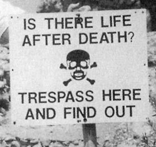 17 best ideas about no trespassing signs on pinterest for Door quotes funny