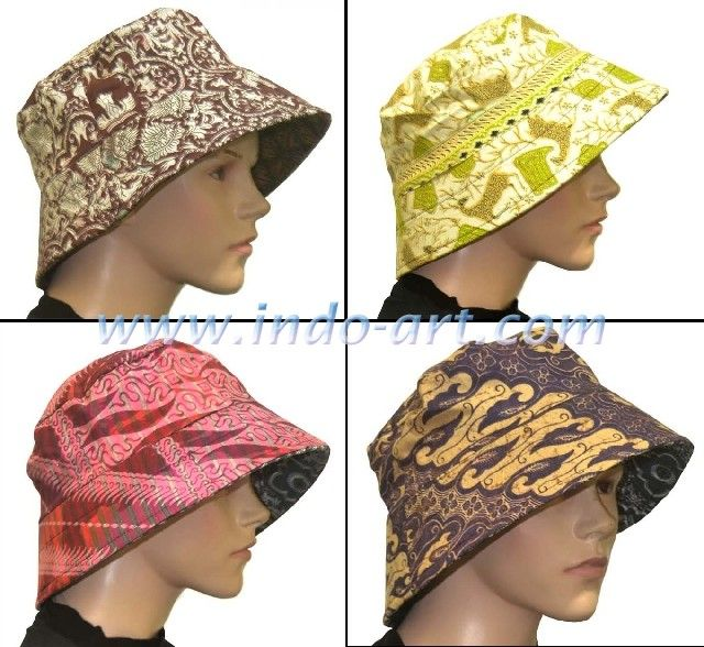 Batik cap women alternating two sides
