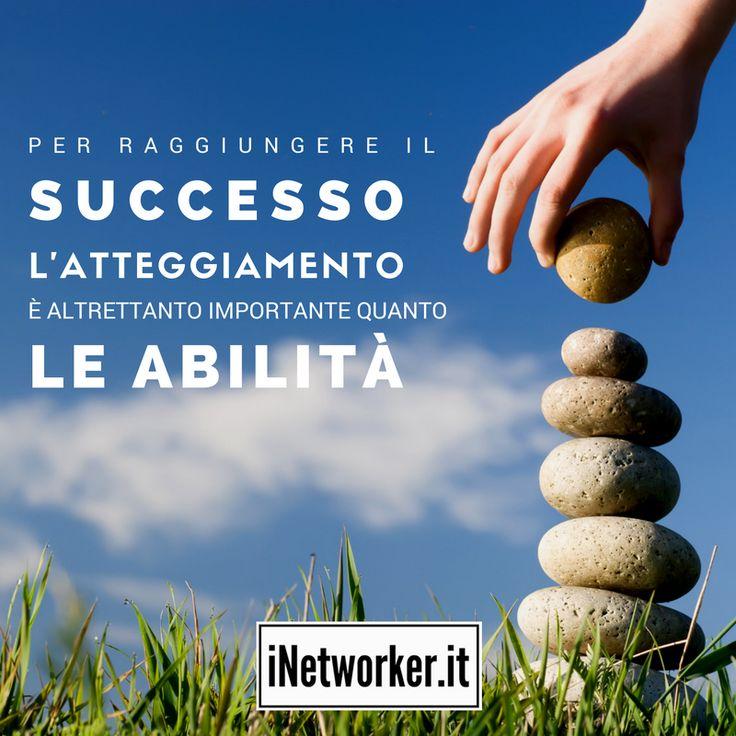 Se lavori con un #atteggiamento positivo hai gia fatto metà del lavoro. Sei d'accordo?