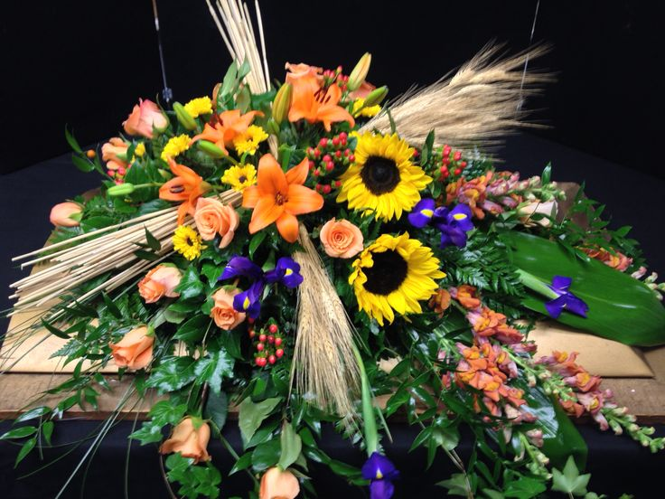 1000 Images About Fresh Flower Memorial Tribute On Pinterest
