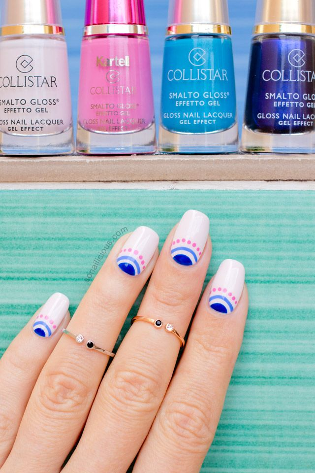 The Fabulous Collistar Nail Polish Review & Nail Art