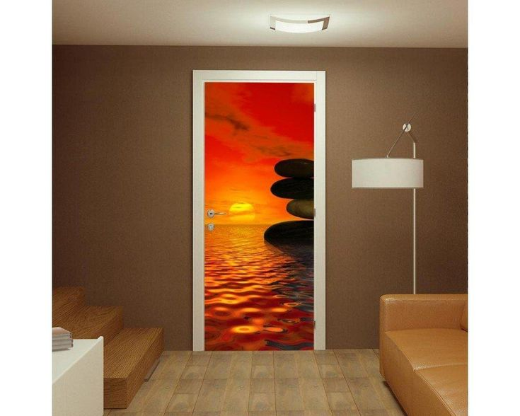 Sunset balance, αυτοκόλλητο πόρτας , δείτε το!
