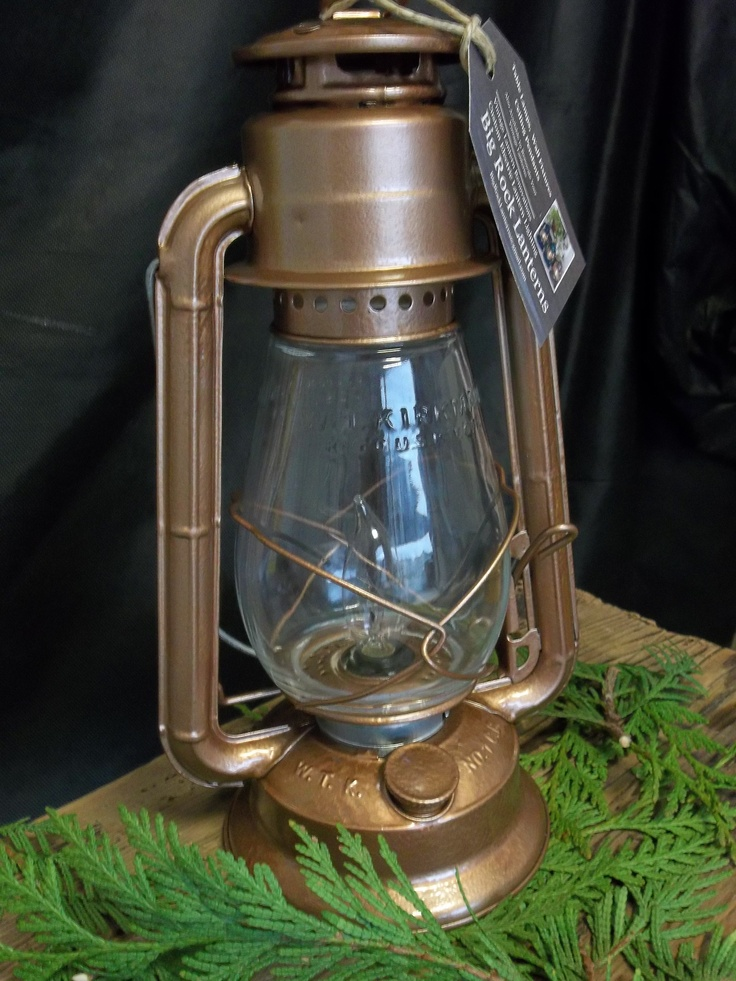 This U0027Little Champu0027 Table Lamp Has A Bronze, Hammered Finish. Electric  LanternLantern ...