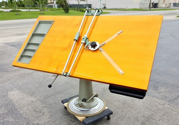 ULTRA RARE  NIKE Eskilstuna LARGE CAST IRON HYDRAULIC lift DRAFTING TABLE, Isis  #NikeEskilstuna