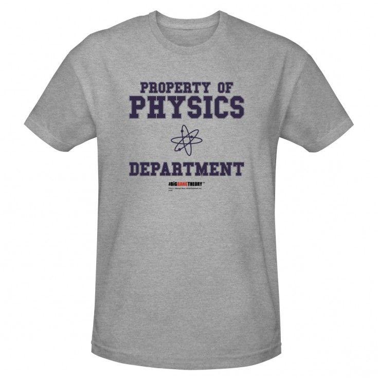 The Big Bang Theory Physics Department T-Shirt