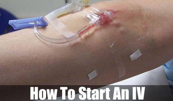 How To Start An IV - SHTF, Emergency Preparedness, Survival Prepping, Homesteading