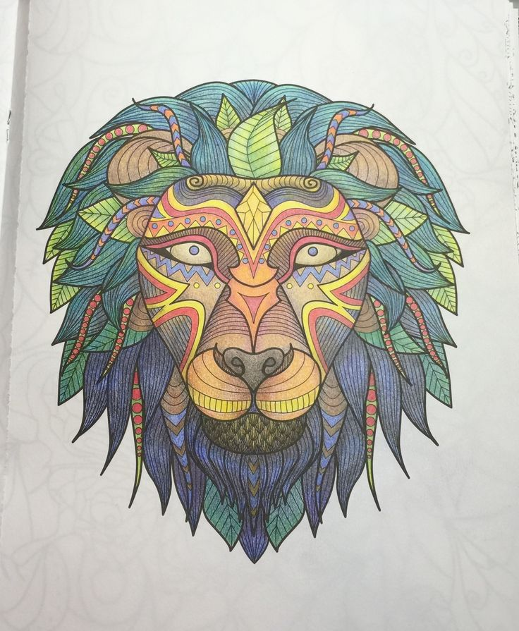 art of coloring animals