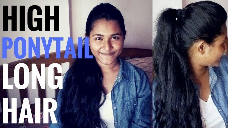 HIGH PONYTail for Long HAIR