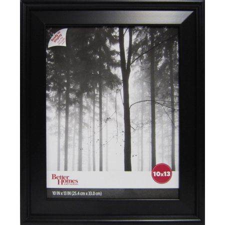 Better Homes And Gardens Beveled Picture Frame Black Better Homes Picture Frames Home Decor Pictures