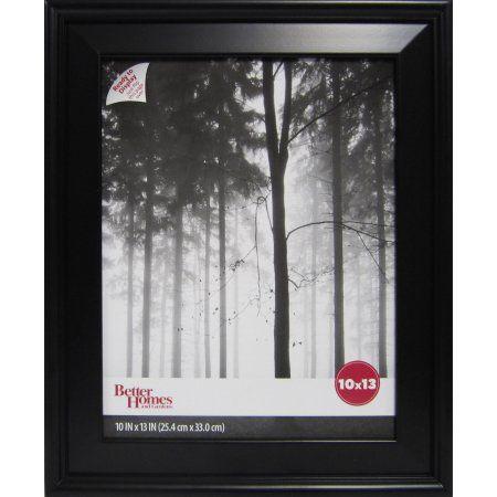 Better Homes And Gardens Beveled Picture Frame Black Better