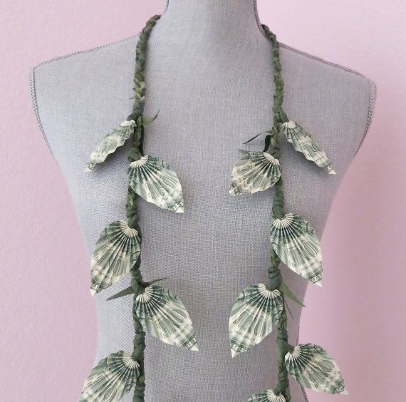Money lei Graduation lei Perfect for graduations by bydezign