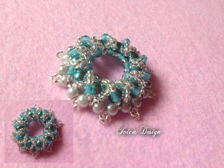 Esmerald Sweeney Donut pendant with silver silk ribbon necklace <3 Follow me on my Facebook page: https://www.facebook.com/IvicaDesign/?ref=bookmarks Buy my jewelry on Porteka:  https://porteka.com/hu/ivica