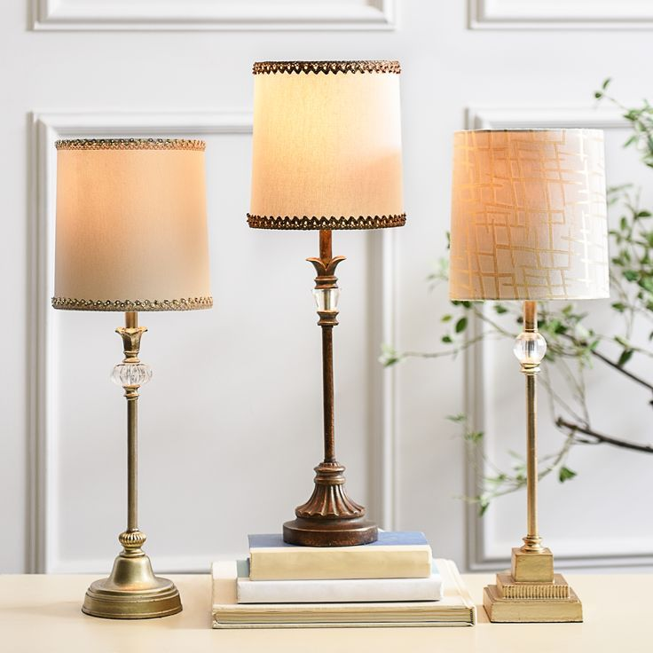 Light up your decor with a great buffet lamp. Perfect for adding a new feel