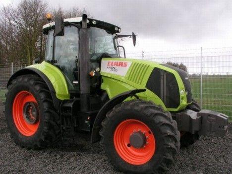 Tracteur Claas - Axion 840 212 ch
