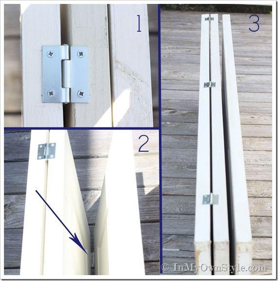 Fabriquer un paravent en bois soi-même | BricoBistro                                                                                                                                                                                 Plus