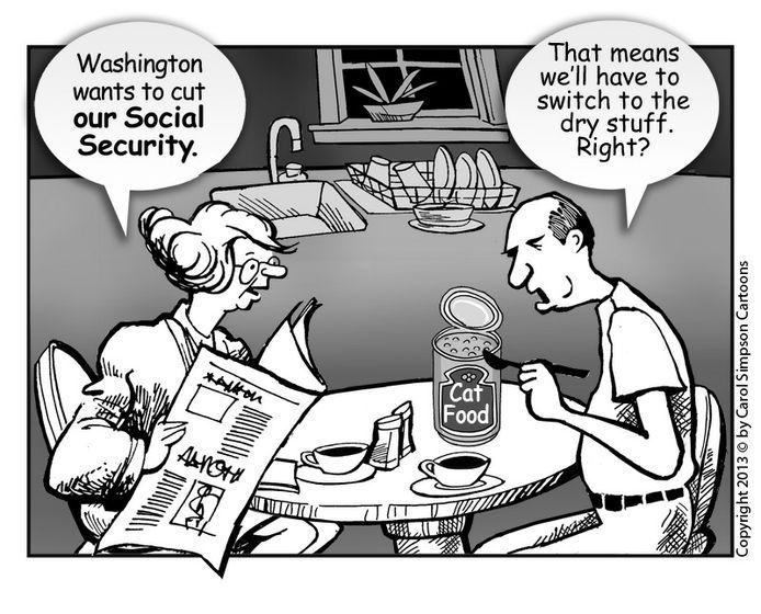 Social Security Benefits Cut | Cartoon Movement - Cuts in US Social Security benefits