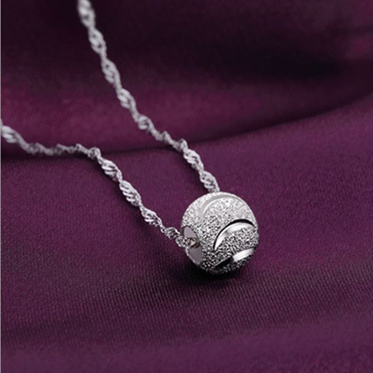 Free Shipping fashion accesories necklaces silver necklace pendant necklace fine jewelry necklace women N93