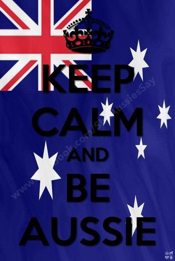 Proud Aussie!! :D