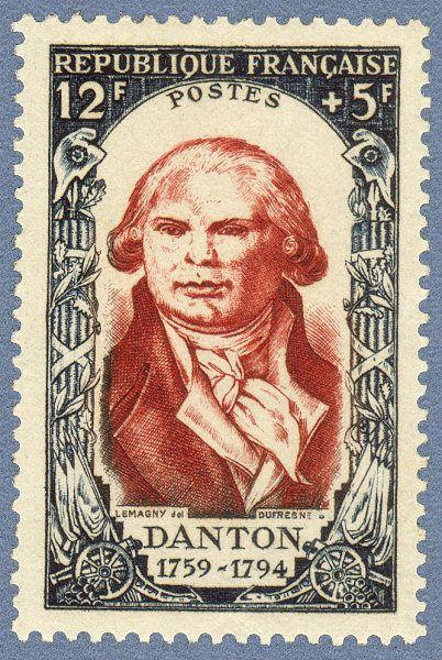 Georges J Danton (26  outº.1759, Arcis-sur-Aube — 5  abril  1794, Paris) foi advogado e político francês que se tornou uma figura   da Revolução Francesa.Em 1791, no decorrer do processo revolucionário iniciado em 1789, Danton apoiou os jacobinos que queriam a substituição de Luis XVI por Philippe d'Orleans, enquanto que os cordeliers exigiam a abdicação do rei. Após o fuzilamento de manifestantes republicanos no Campo de Marte em julho,  refugiou-se em Inglaterra, foi guilhotinado  5 abril…