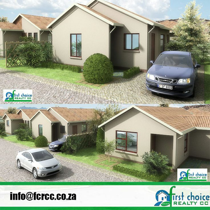 Bergsig Affordable Development in Heidelberg, Gauteng. 2 & 3 Bedroom plans available Wide variety of additional optional extras available to give you the client the opportunity to customize your house. For more click here:http://bit.ly/1lHIOtg Visit our website: http://bit.ly/1hcfKVn #Heidelberg #affordablehousing #property