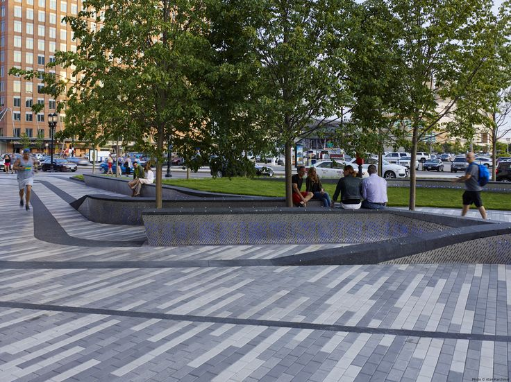 Mikyoung Kim Design - Pier 4 Plaza in Boston's Seaport District Reaches CompletionMikyoung Kim Design - Landscape Architecture, Urban Planning, Site Art