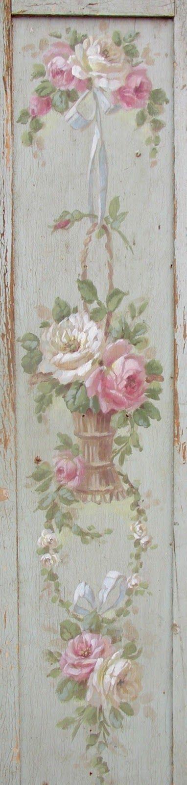 Frivolous Fabulous - French Pink Roses and Basket Frivolous Fabulous Warm and Cozy