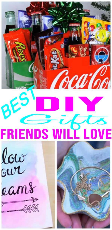 Diy Gifts For Friends Diy Gifts For Friends Quick Diy Gifts Diy Christmas Gifts For Friends