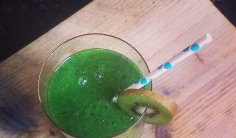 10 dagen gezond met groentesap, hoe doe je dat, welke sappen maak je en waar vind je de recepten? Recept van de dag: appel, kiwi, spinazie