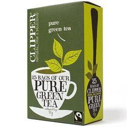 Fairtrade Pure Green Tea 25 bags #fairtrade #tea
