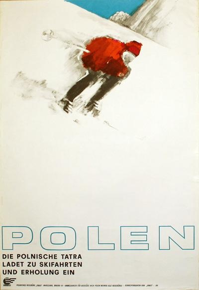 Polen, Vintage Ski Posters