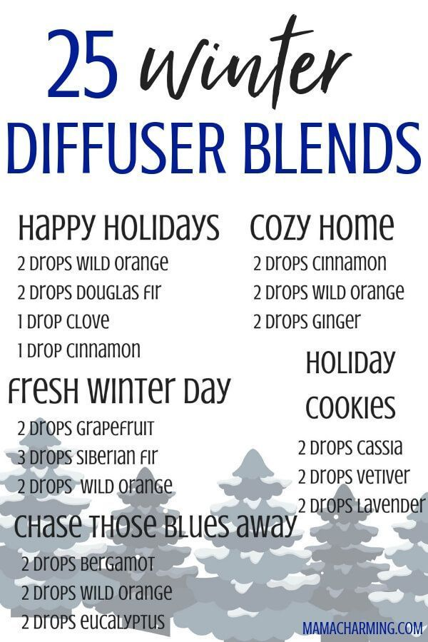 The Best Diffuser Blends for Winter