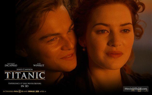 Titanic - Wallpaper with Leonardo DiCaprio & Kate Winslet
