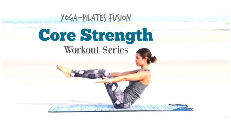 Core strength is so important as it is the foundation for all movement. Use this Yoga and Pilates inspired workout to increase your total core strength.