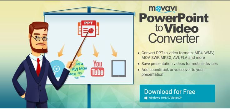 Now convert your important powerpoint presentations to video using professional and dynamic powerpoint video maker tool which uses advanced algorithm to convert your ppt to video formats such as MP4, WMV, MOV, SWF, MPEG, AVI, FLV etc.