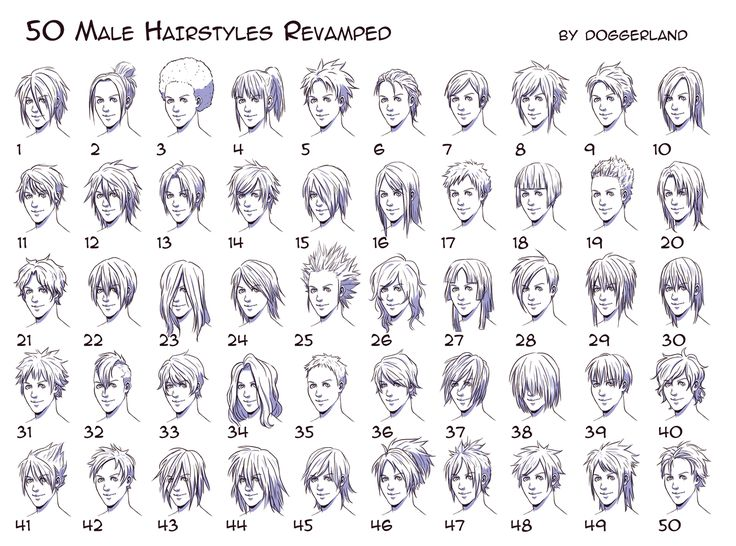Anime Hairstyles For Guys Side View - Best 20+ Anime Hairstyles Male Ideas On Pinterest Drawing Hair