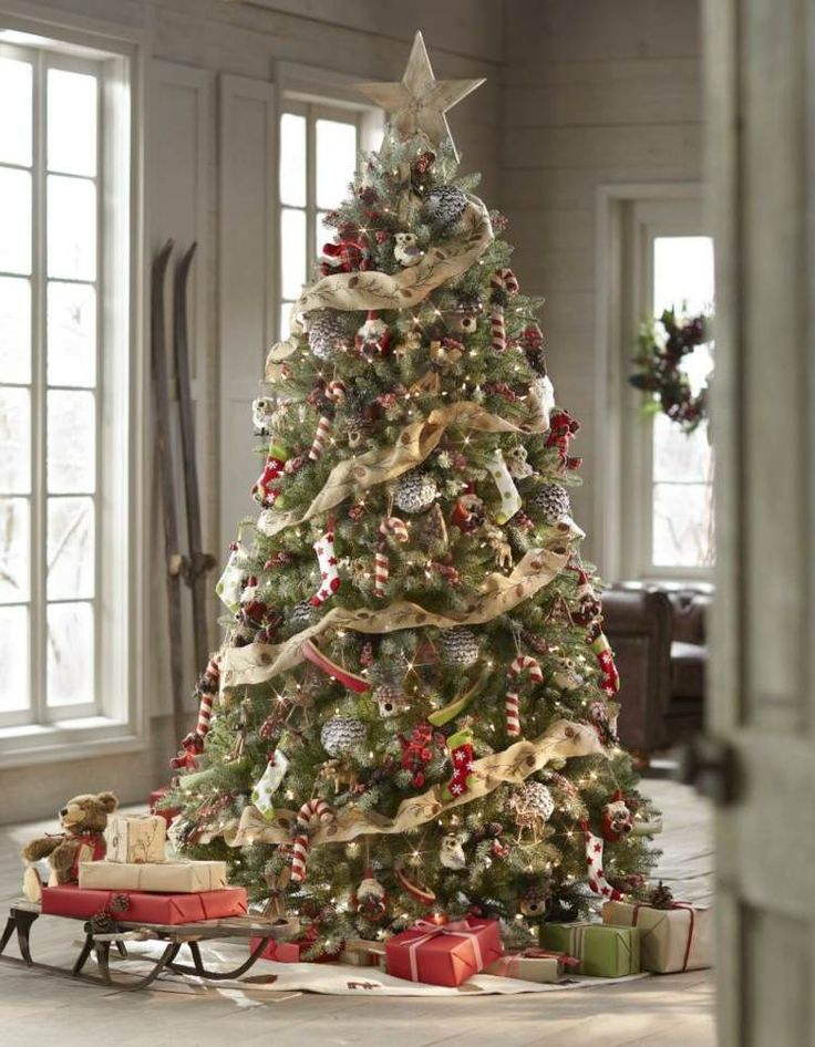 1000 id es sur le th me arbres no l country sur pinterest for Decoration de sapin de noel