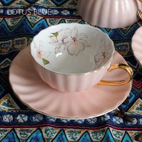 Sexto lujo calidad ósea horno conjunto taza de café de regalo taza de café expreso color rosa de color sólido en Tazas/Mugs/Tarros de Hogar y Jardín en AliExpress.com | Alibaba Group