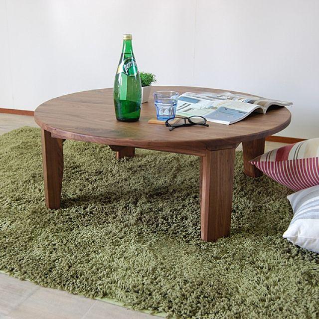 こどもと暮らす。/折り畳み ちゃぶ台…などのインテリア実例 - 2016-05 ... 折り畳み ちゃぶ台/折り畳みテーブル/テーブル/折りたたみテーブル