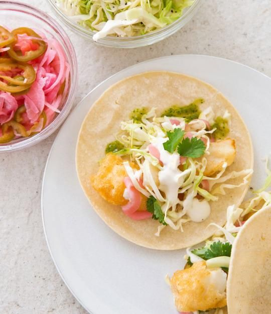 Fried Fish Taco Recipe from 'The Best Mexican Recipes'