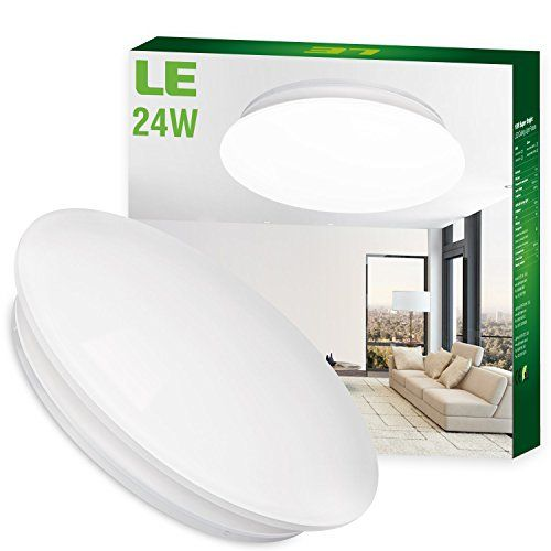 LE® 24W 16-Inch Daylight White LED Ceiling Lights, 180W I... https://www.amazon.com/dp/B00L4R8OLU/ref=cm_sw_r_pi_dp_0dRDxbX7XJW8Z