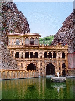 Galtaji Temple Jaipur Rajasthan India | Tourist attraction India | Book India Tour today