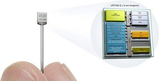 LPC1102 - World's Smallest 32-Bit ARM Microcontroller